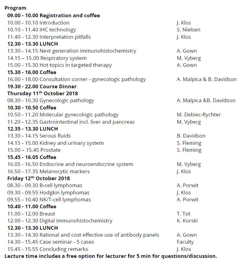 Program 2018